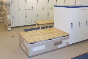 Oprema za svlačionice i druge prostore